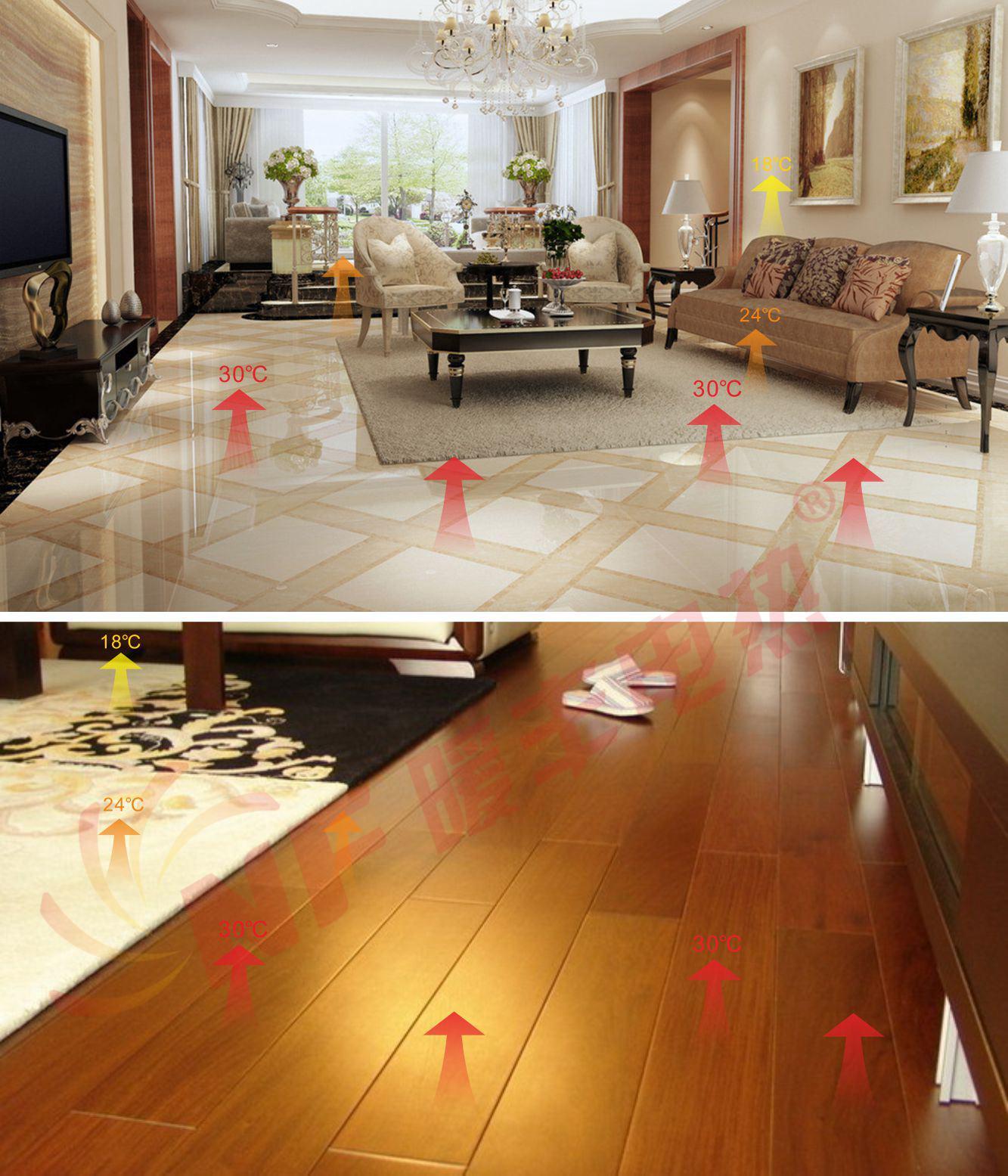 定制发热地砖木地板系列